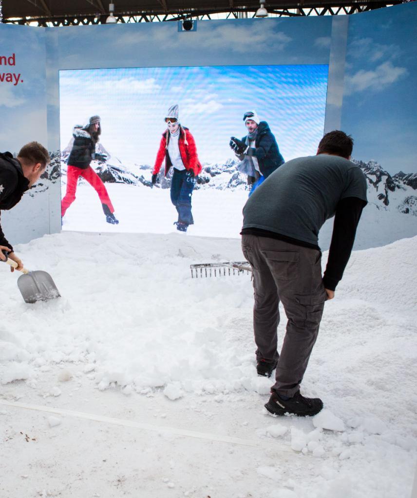 Swiss winterwonderland