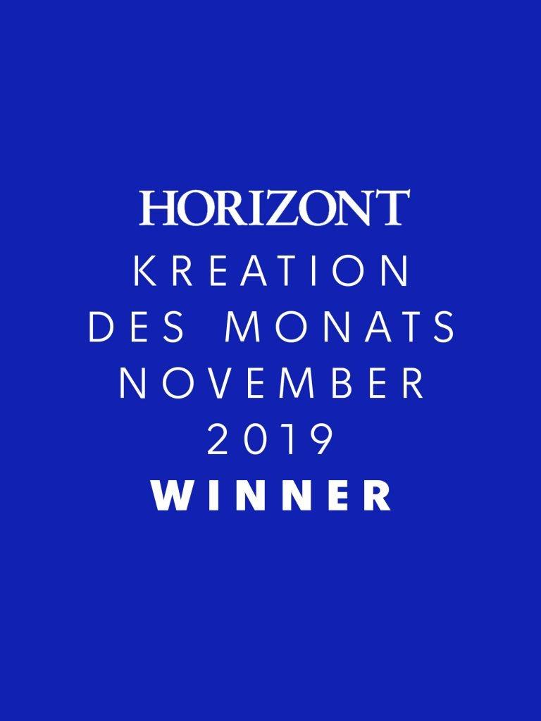 Horizont Kreation des Monats November 2019